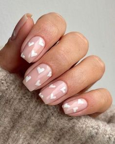 Nagellack Design, Nagellack Trends, Simple Acrylic Nails, Best Acrylic Nails, Cute Gel Nails, Pretty Nails, Pretty Short Nails, French Tip Nails, French Tips