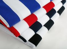 50x165cm Striped cotton knitted cloth fabric DIY elastic T-shirt cotton sewing clothing making fabric