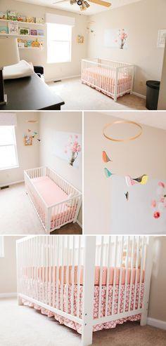 Baby Greta and Her Pretty Paris Inspired Nursery