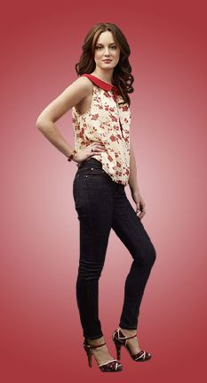 Gossip Girl 1x03 Poison Ivy #GossipGirl #BlairWaldorf #QueenBthe - One time she wore jeans ...