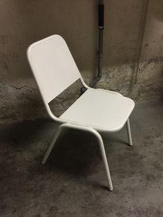 Bistrostoel / terrasstoel metaal / WIT/ Art.Jod1402.2.3