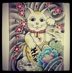 Maneki Neko by faby-botan