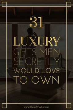 For this top 31 list, we went all out and gathered the hottest of crème de la crème, luxury gifts for men who have everything. Show me the money! Surprise Gifts For Him, Christmas Gifts For Husband, Birthday Gift For Him, Anniversary Gifts For Him, Husband Gifts, Birthday Gifts For Men, Birthday Present For Husband, Birthday Candy, Husband Birthday