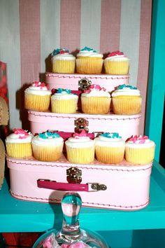 cupcake display Ruff Draft Papers