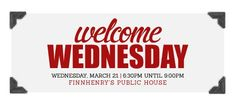 Ad 2 Orlando's first Welcome Wednesday!