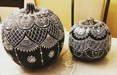 Henna Ornamental Pumpkin #henna #pumpkin #pumpkindecoration #halloween…
