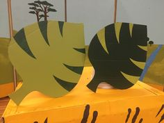 Lawrence Jones Middle School - Lion King Jr jungle leaves