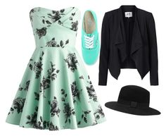 """Sin título #715"" by fitz-simmons ❤ liked on Polyvore featuring Vero Moda, Vans and Witchery"