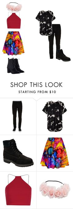 """Light and Darkness"" by sinovuyoncube on Polyvore featuring Off-White, Timberland, Boohoo and Zimmermann"