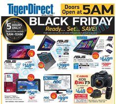 TigerDirect Black Friday 2014 Ad ★ Shop and ship with #borderlinx ★