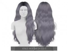 best=Venus Hair The Sims 4 Jennifer Bridal Sims Baby, Sims 4 Teen, Sims 4 Toddler, Sims Cc, Hair The Sims 4, Sims 4 Curly Hair, Sims 4 Black Hair, Sims 4 Cc Kids Clothing, Sims 4 Mods Clothes