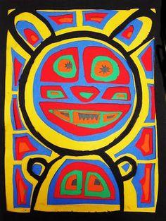 paper molas for older kids  Upper School Art (Grades 7-12)