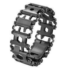 The Metric version of the Tread® Multi-tool Bracelet. Functionality of a Leatherman tool, with you everywhere. Your trusted source of multi-tools since Leatherman Outdoor Tools, Outdoor Survival, Outdoor Camping, Outdoor Travel, Outdoor Gadgets, Outdoor Baby, Edc Tools, Survival Tools, Urban Survival
