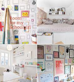 Room for my schoolgirl - moodboard