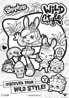128 Best Coloring Pages Shopkins images | Coloring pages, Shopkins ...