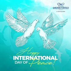 Let's spread peace and make this world a better place. Nataraj Sarovar Portico Jhansi wishes everyone a 'Happy International Day of Peace'. International Day Of Peace, Nataraja, World, Places, Happy, Ser Feliz, The World, Lugares, Being Happy