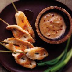 G. Garvin | Chicken Saté with Spicy Peanut Sauce