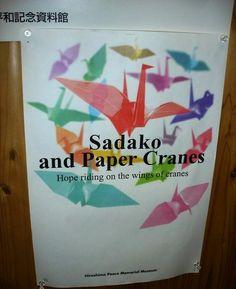 Sadako and Paper Cranes   https://www.facebook.com/media/set/?set=a.394374607047.173235.295386952047=3=f49098f8d7