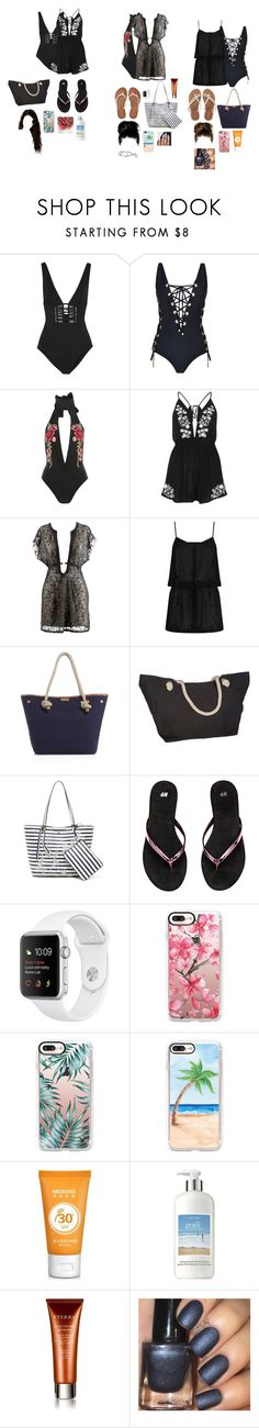 """""""Untitled #1290"""" by kellylaeticia ❤ liked on Polyvore featuring Zimmermann, Forever Unique, Rare London, River Island, ELIZABETH HURLEY beach, MICHAEL Michael Kors, Tommy Bahama, Aéropostale, Casetify and philosophy"""