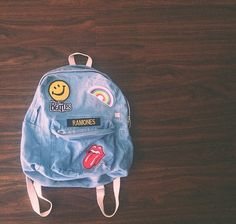 Cute backpack.