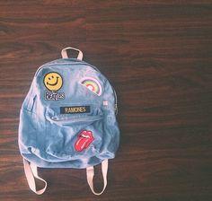 Cute backpack.                                                                                                                                                     More