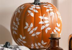 Craft Painting - Leaf Pumpkin from Martha Stewart Crafts
