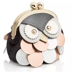Wise old owl change purse ks Super cute for fall and sold out. Collectors! kate spade Bags Clutches & Wristlets