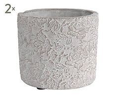 Macetero de cemento de http://www.westwing.es