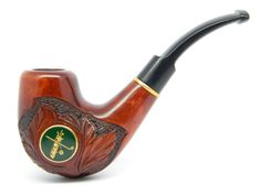 """Smoking pipe """"GOLF"""" Hand Carved, Great golf players, fans present + Gift Pouch"""