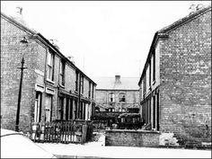 Lamcote Terrace 1975 Taken from Lamcote Street.