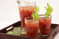 Caesar - Invented in Calgary in 1969, this Canadian favourite is often mistaken for the American Bloody Mary. But don't get confused, ours is much better. Practice stirring up this concoction at home - it's rarely available outside Canada - so you can impress your travel companions when you find yourself abroad.