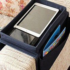 SZTARA Sofa TV Remote Control Handset Holder Organiser Caddy For Arm Rests With