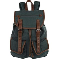 Green rucksack - rucksacks - bags / wallets - men River Island