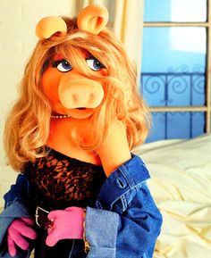 :)  Had to throw this one in. Who can forget Ms. Piggy?  #Muppet #Diva , for sure