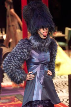 Runway Flashback! Alexander McQueen for Givenchy 2000 Fall/Winter Haute Couture | POPSUGAR Social