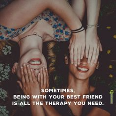 Friends support us in hard times and make fun times even better. This is our collection of great saying about friendship. National Sisters Day, Besties Quotes, Girl Best Friend Quotes, Friend Sayings, Gum Disease Treatment, Sister Day, Best Friendship Quotes, Friend Pictures, Your Best Friend