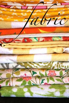 Fabric: Grains and Cutting