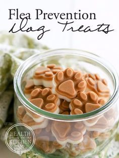 DIY Pet Recipes For Treats and Food - Homemade Flea Prevention Dog Treats - Dogs, Cats and Puppies Will Love These Homemade Products and Healthy Recipe Ideas - Peanut Butter, Gluten Free, Grain Free - How To Make Home made Dog and Cat Food - http://diyjoy.com/diy-pet-recipes-food