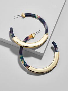 Tassiana Hoop Earrings