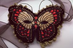"""Cynthia Stern's butterfly """"Mask"""". Superb!"""