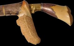 Carved Royal Ivory, Gold & Suasa Siwaih Aceh, Indonesia circa 1850 Inventory no.: 2861