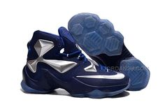 best cheap b4625 0fdfc Buy 2016 Nike Mens Basketball Sneakers Lebron 13 Navy Blue Silver TopDeals  from Reliable 2016 Nike Mens Basketball Sneakers Lebron 13 Navy Blue Silver  ...