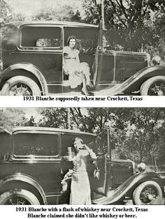 Blanche Caldwell Barrow married Buck Barrow, brother of the notorious Clyde Barrow. Bonnie And Clyde Bodies, Bonnie And Clyde Pictures, Bonnie And Clyde Death, Bonnie Clyde, Magic Time Machine, Famous Outlaws, The Babadook, Bonnie Parker, Gangster S