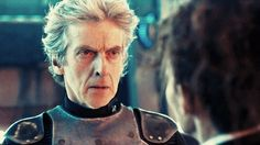 """Now, P-Cap. Here is a man. They give you, I don't know, half-an-hour, forty minutes, for make-up and hair. And he has no make-up. He uses it all for hair."" Matt Lucas, reveals the secret behind Peter Capaldi's gorgeous looks on Doctor Who. ("