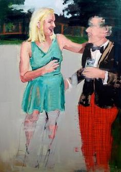 "Saatchi Art Artist Stella Kapezanou; Painting, ""the catch up"" #art"