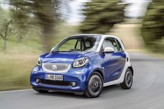 First Drive: Smart Fortwo Coupe Prime Smart Fortwo, Car Photos, Car Pictures, New Smart Car, Benz Smart, Daimler Ag, Eco Architecture, Rough Riders, Car Buyer