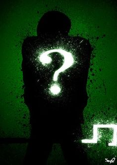 Shadow Of The Riddler by Sno2 on deviantART