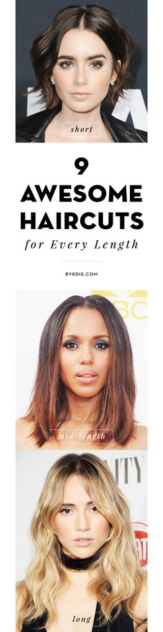 The perfect haircuts for every length