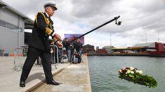 Southampton marks Titanic departure 100 years ago