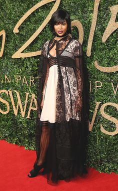 Naomi Campbell from 2015 British Fashion Awards Red Carpet Arrivals | E! Online